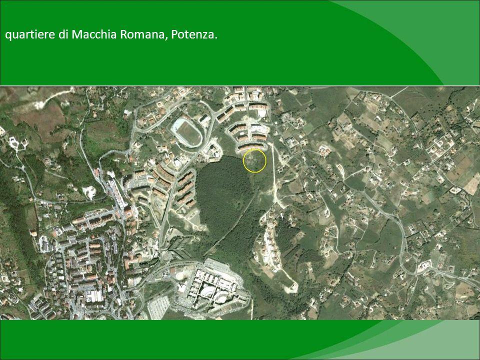 quartiere di Macchia Romana, Potenza.