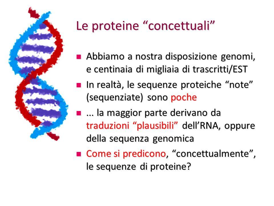 Le proteine concettuali