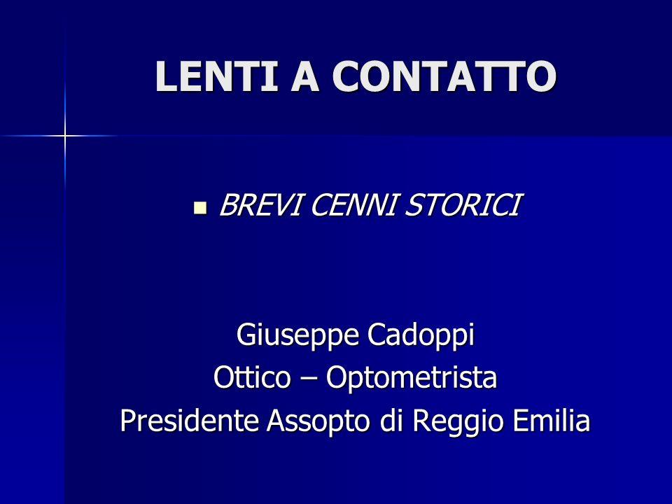 Presidente Assopto di Reggio Emilia