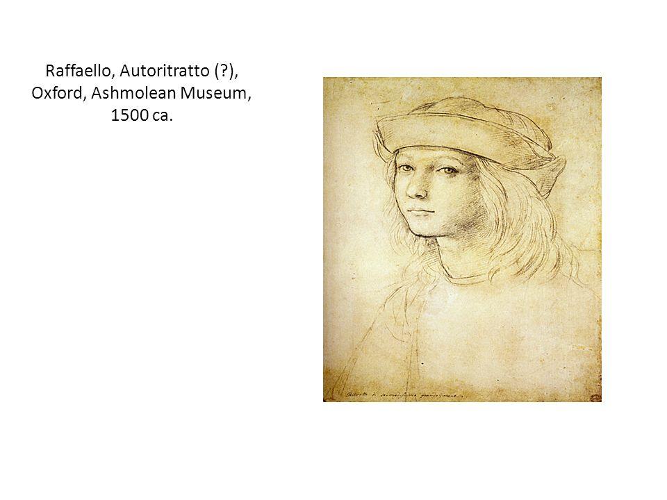 Raffaello, Autoritratto ( ), Oxford, Ashmolean Museum, 1500 ca.