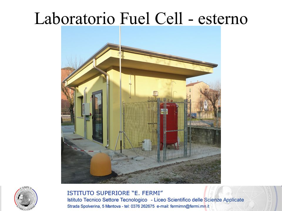 Laboratorio Fuel Cell - esterno
