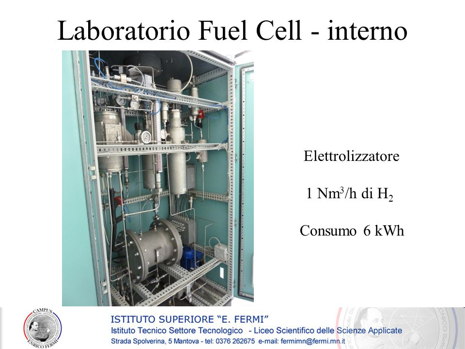 Laboratorio Fuel Cell - interno