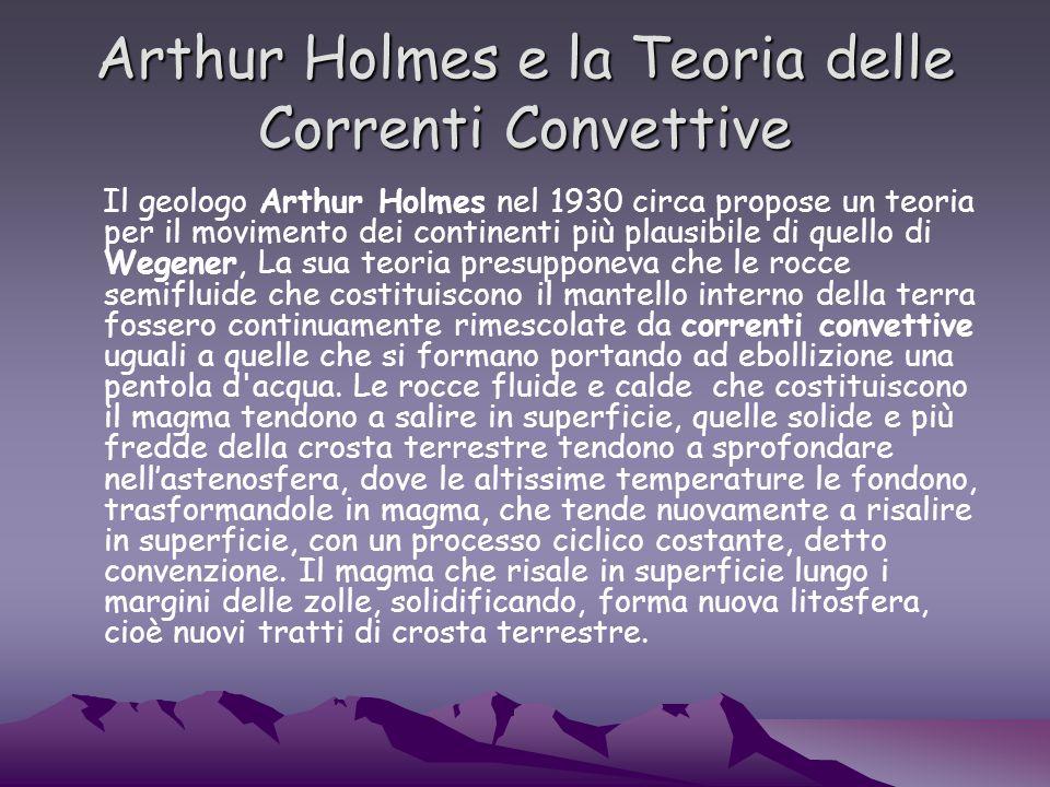 Arthur Holmes e la Teoria delle Correnti Convettive