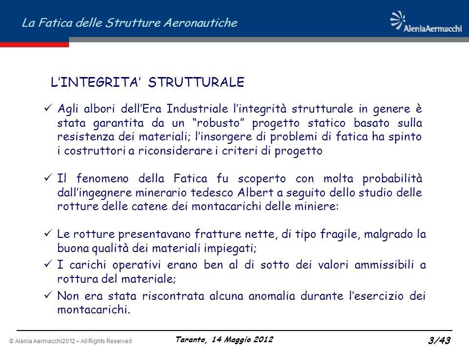 L'INTEGRITA' STRUTTURALE
