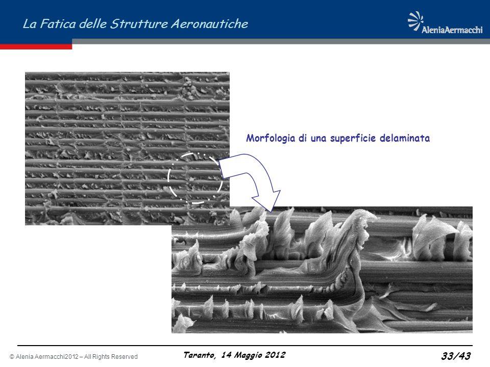 Morfologia di una superficie delaminata