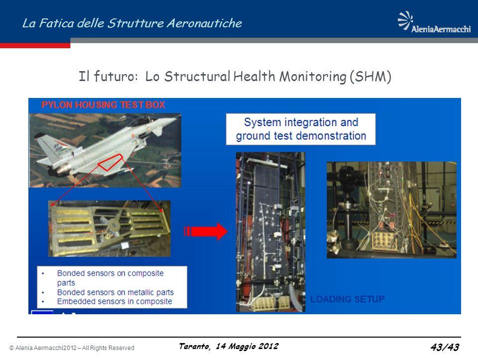 Il futuro: Lo Structural Health Monitoring (SHM)