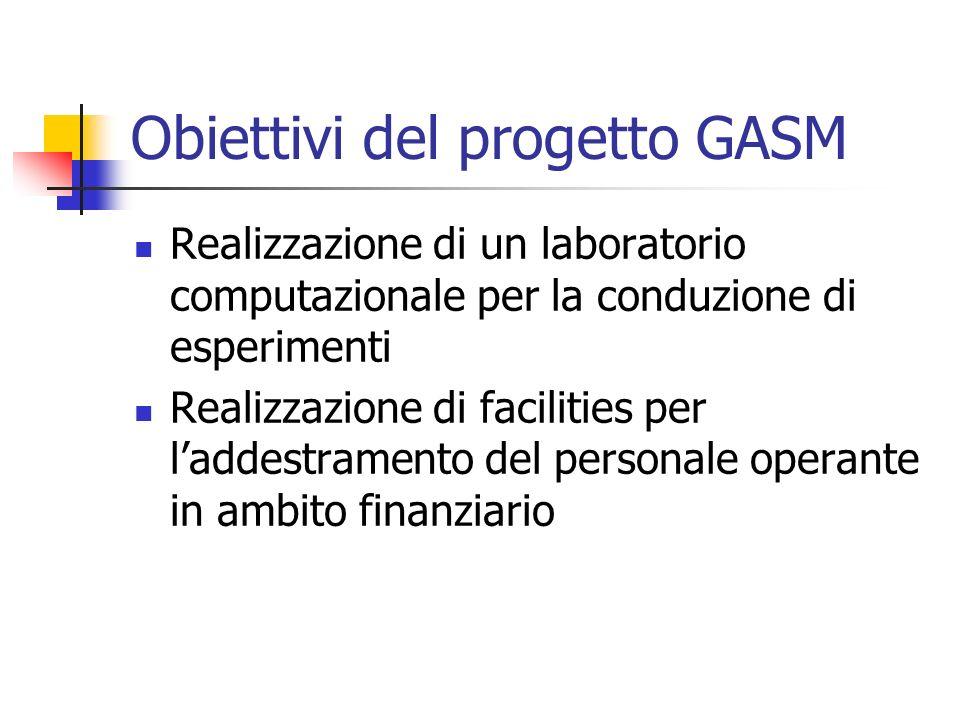 Obiettivi del progetto GASM