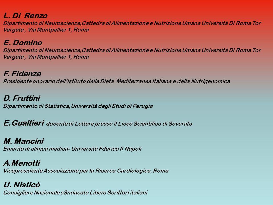 E.Gualtieri docente di Lettere presso il Liceo Scientifico di Soverato