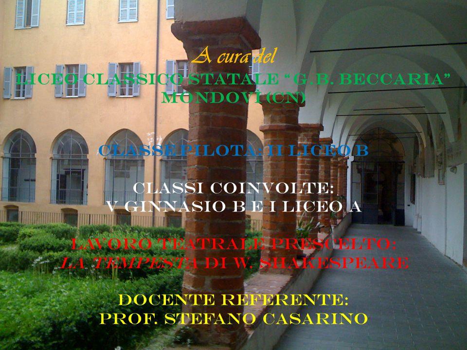 A cura del Liceo Classico Statale G. B