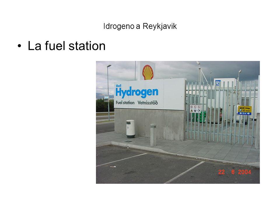 Idrogeno a Reykjavik La fuel station