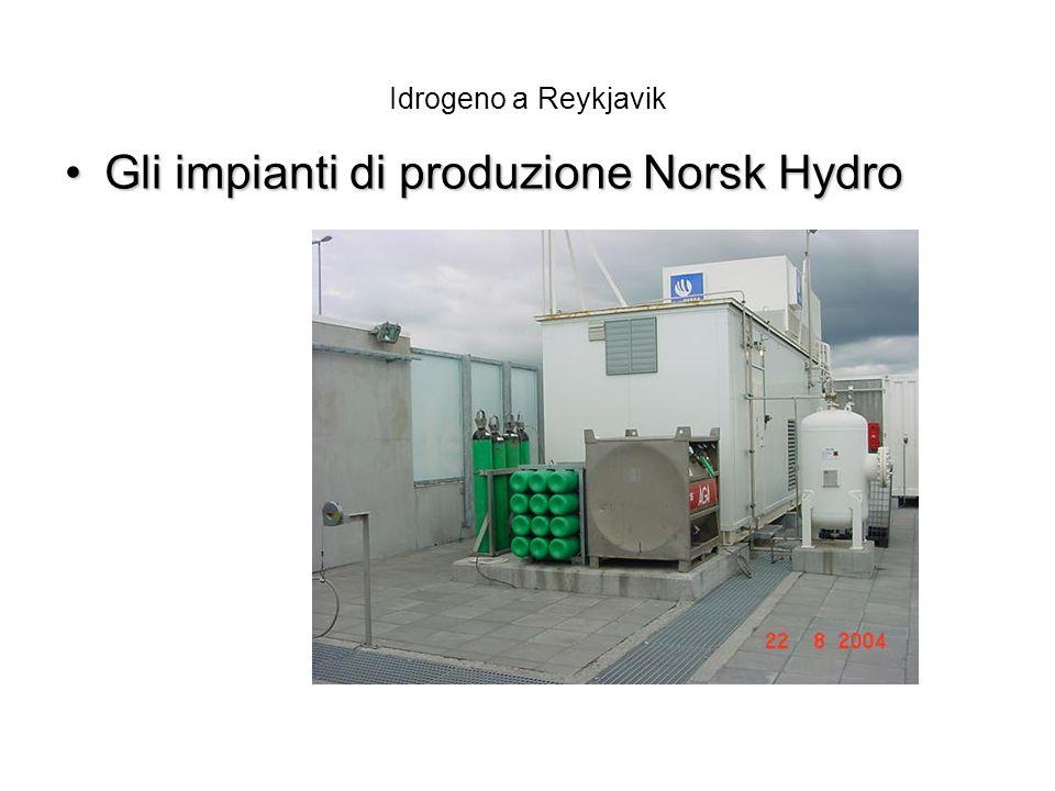 Gli impianti di produzione Norsk Hydro