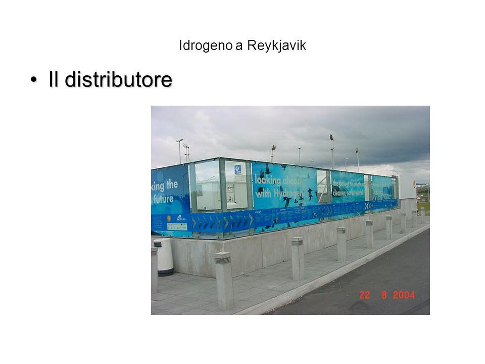 Idrogeno a Reykjavik Il distributore