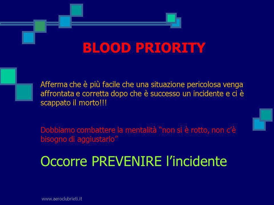 BLOOD PRIORITY