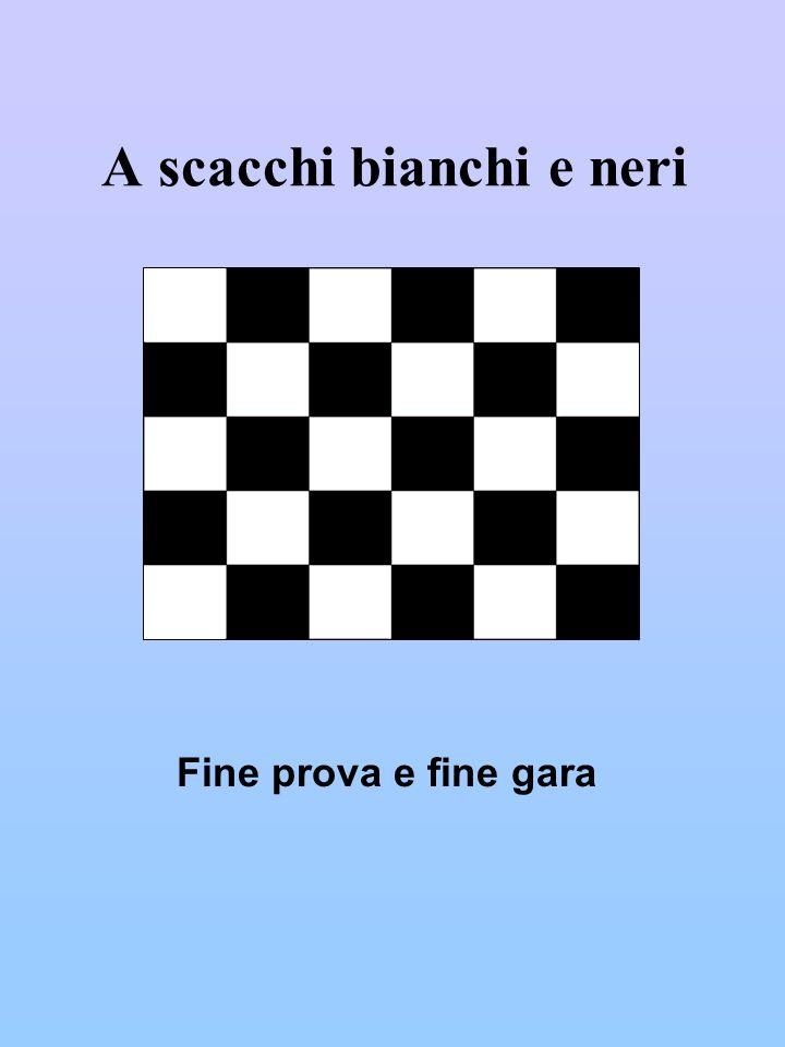 A scacchi bianchi e neri