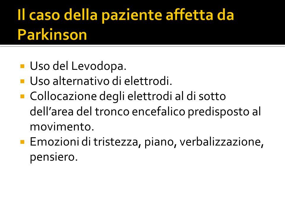Il caso della paziente affetta da Parkinson