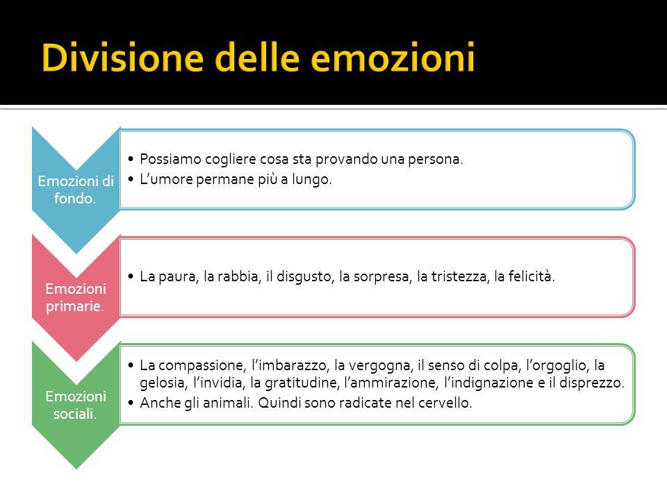 Divisione delle emozioni