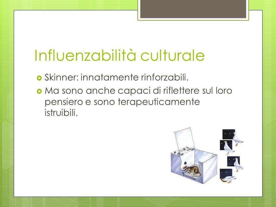 Influenzabilità culturale