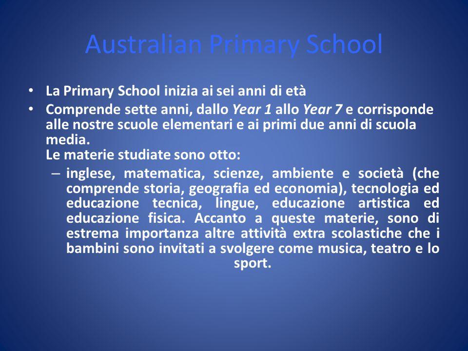 Australian Primary School