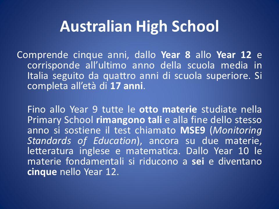 Australian High School