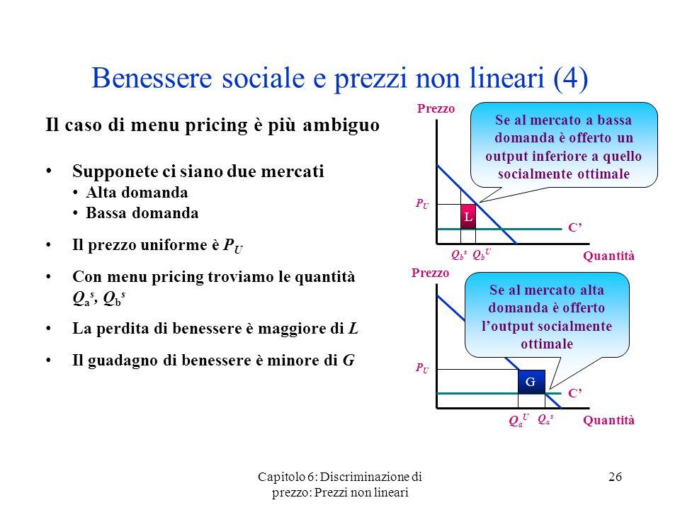 Benessere sociale e prezzi non lineari (4)