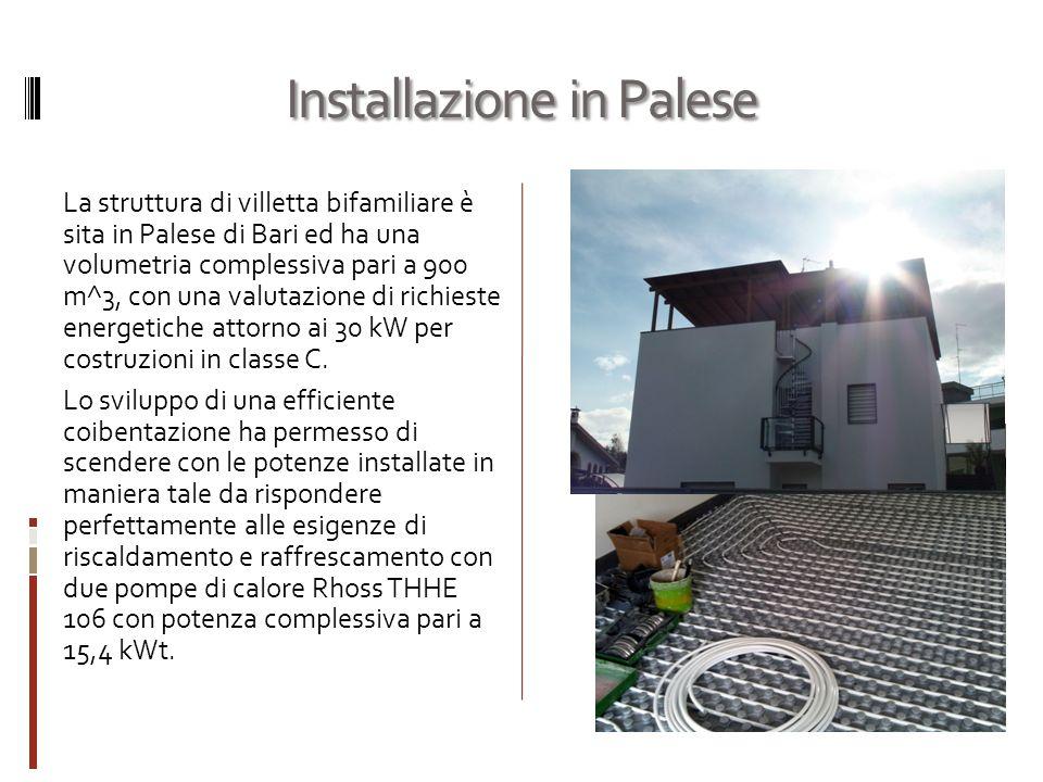 Installazione in Palese