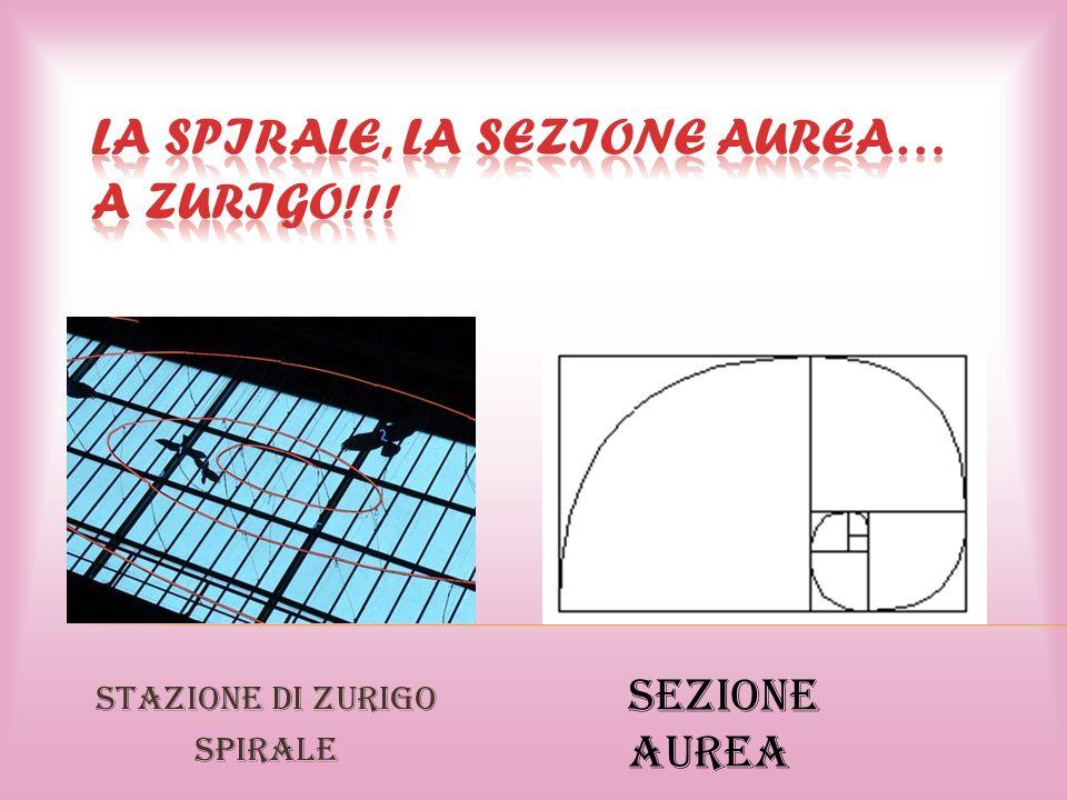 La spirale, la Sezione Aurea… a Zurigo!!!