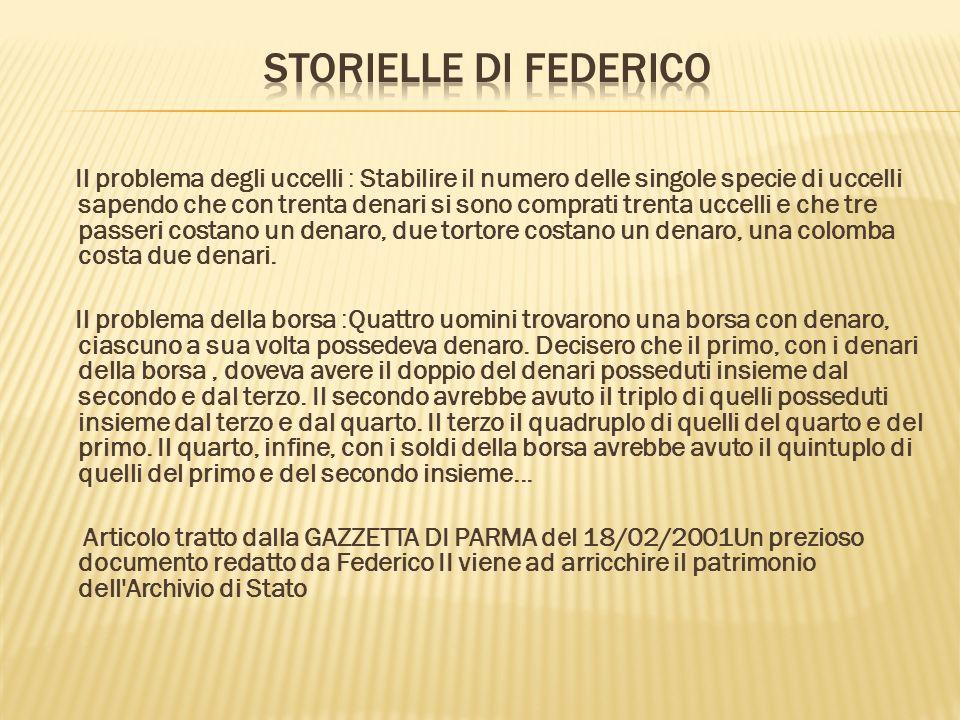 storielle di Federico