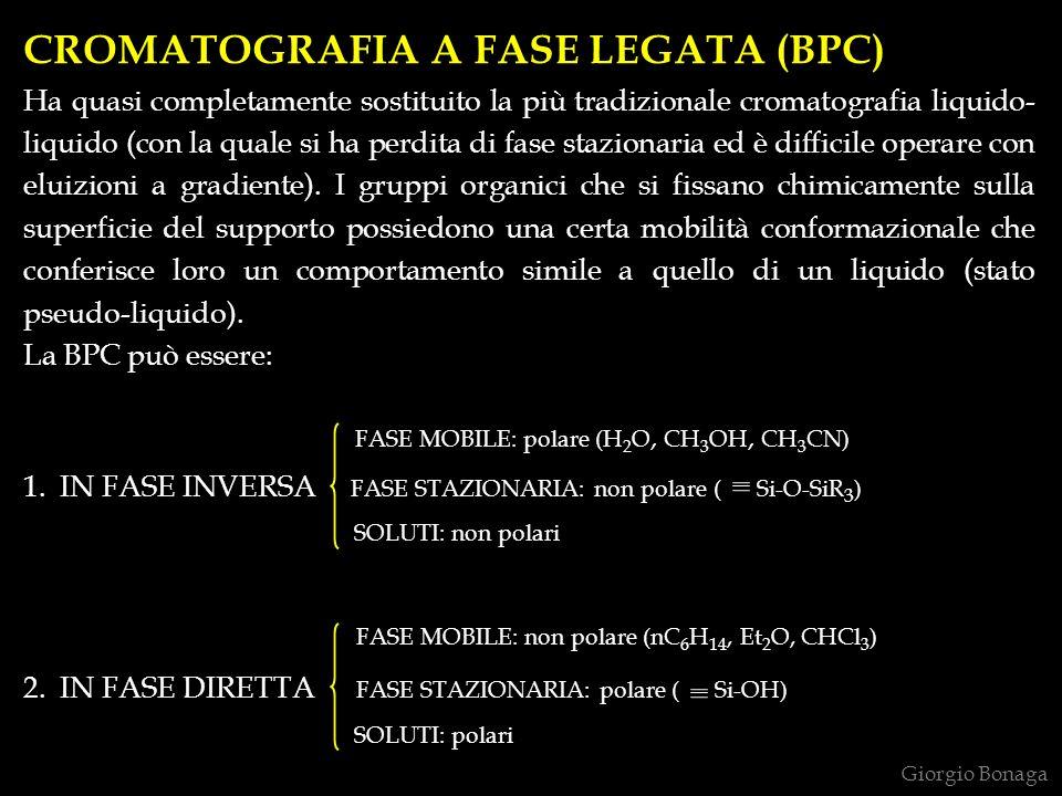 CROMATOGRAFIA A FASE LEGATA (BPC)