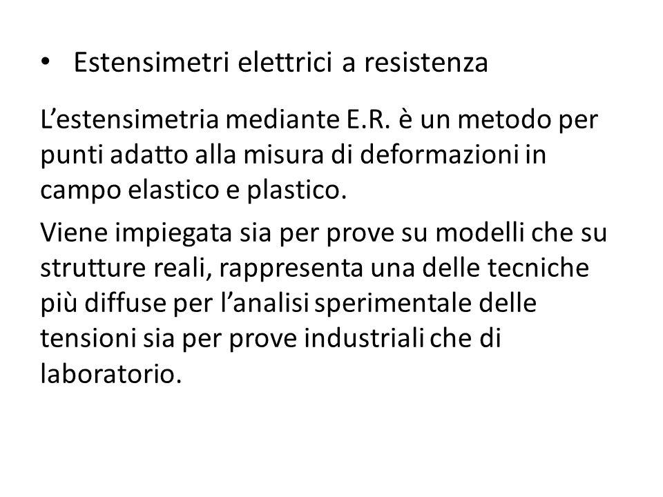 Estensimetri elettrici a resistenza