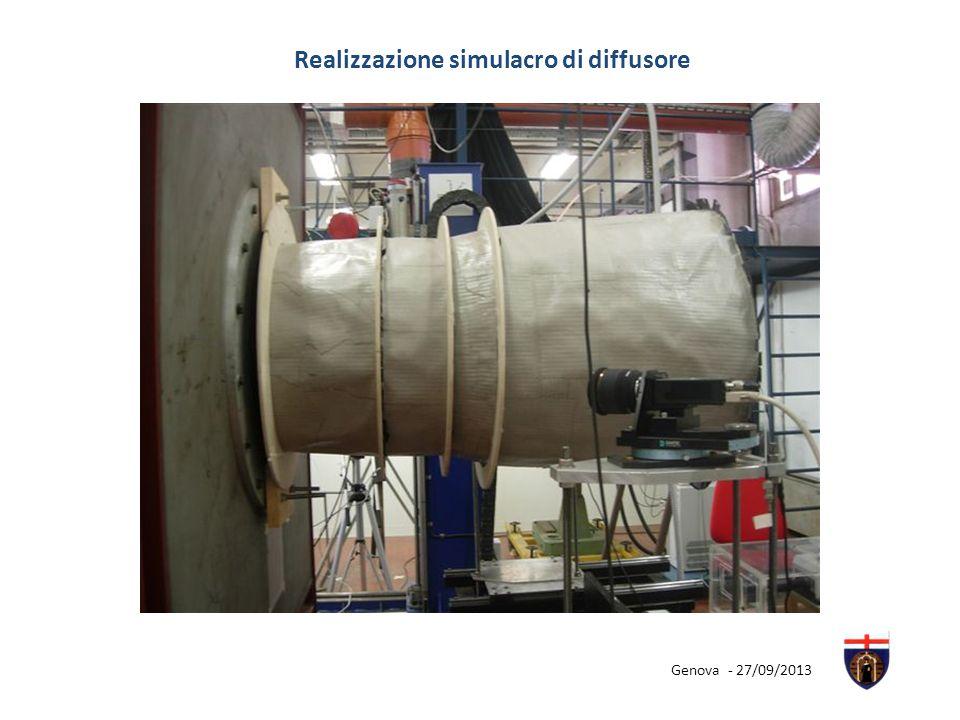 Realizzazione simulacro di diffusore