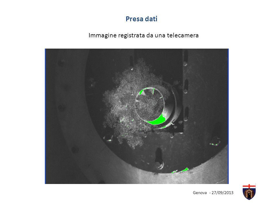 Presa dati Immagine registrata da una telecamera Genova - 27/09/2013