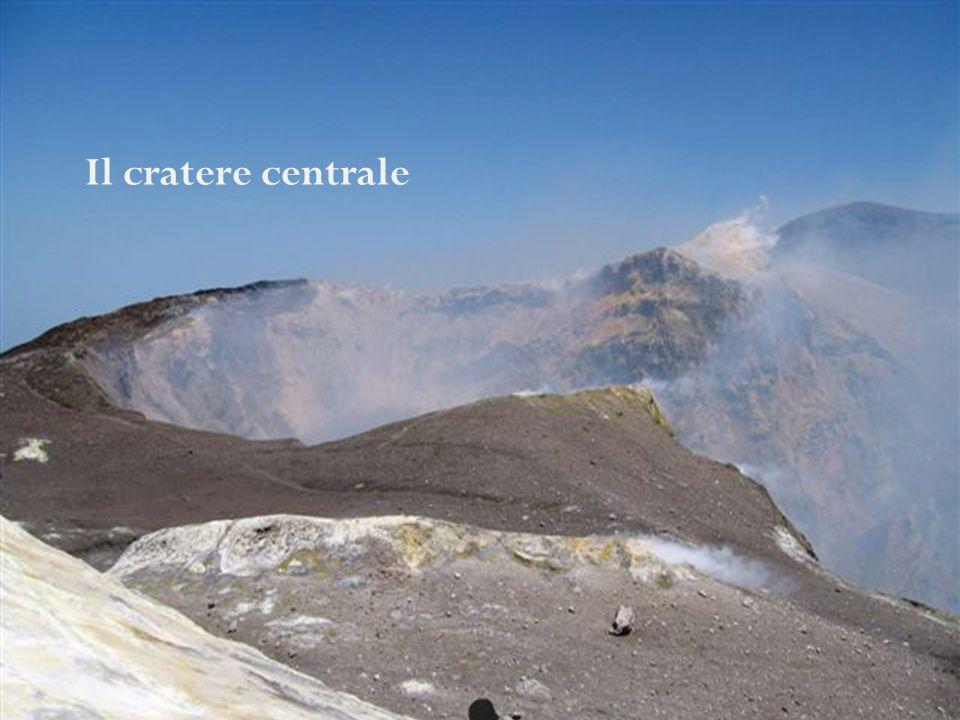 Il cratere centrale I crateri