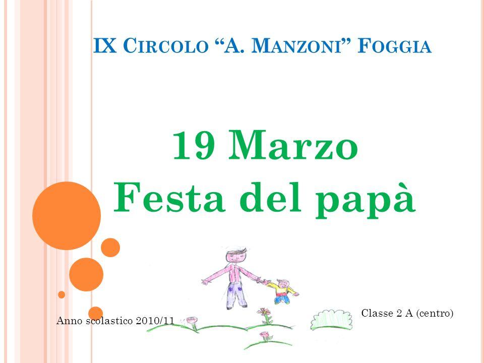 IX Circolo A. Manzoni Foggia