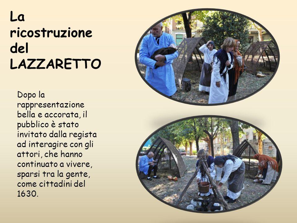 La ricostruzione del LAZZARETTO