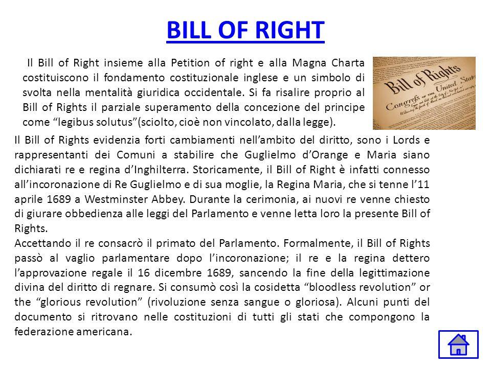 BILL OF RIGHT