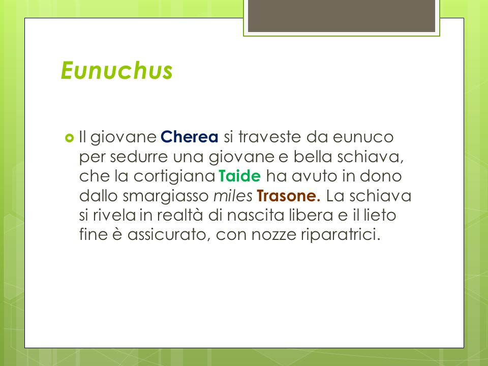 Eunuchus