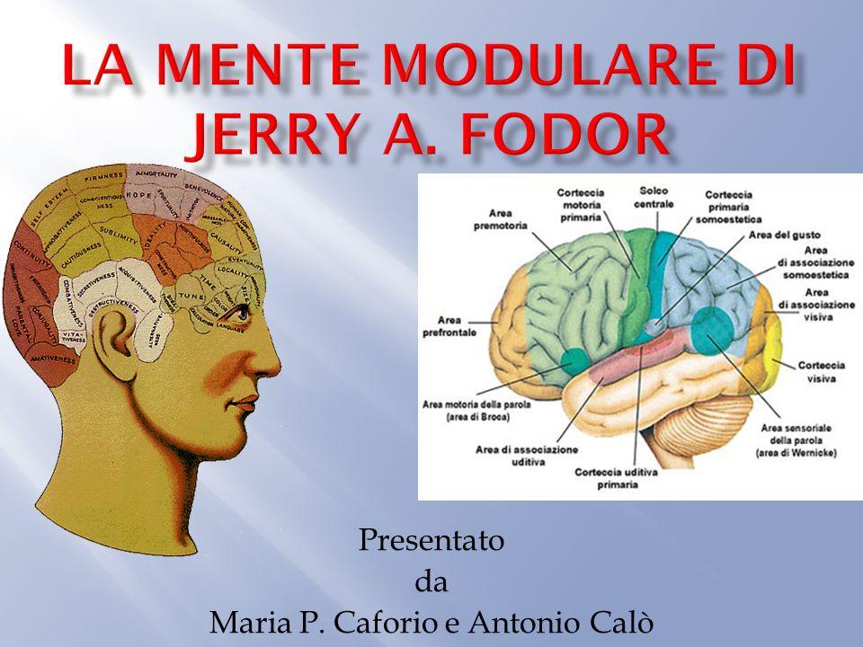 La mente modulare di Jerry A. Fodor
