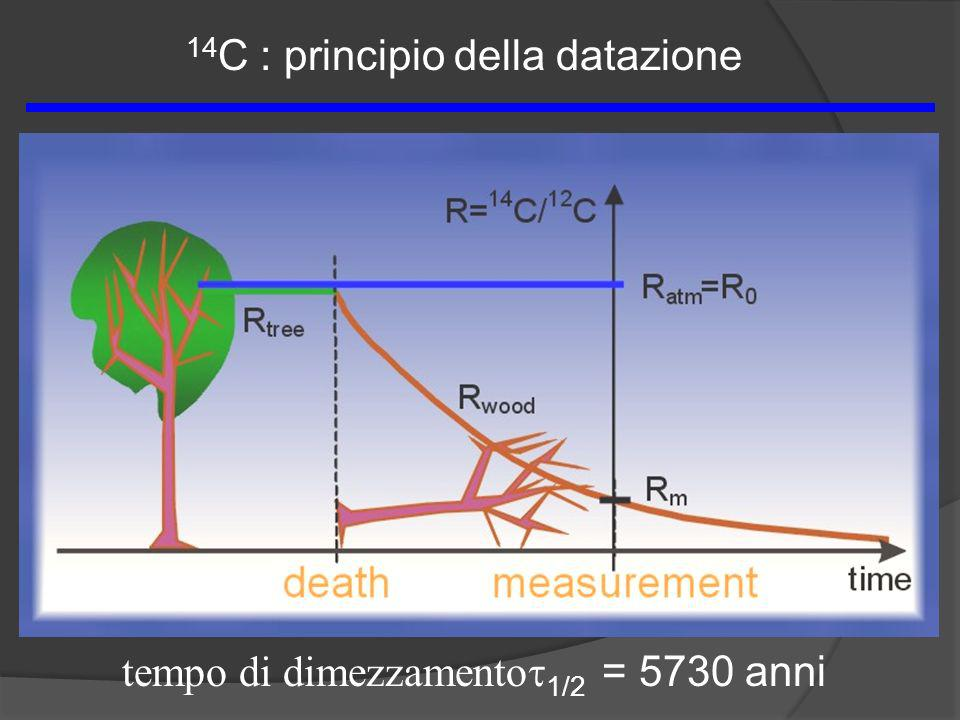 14C : principio della datazione