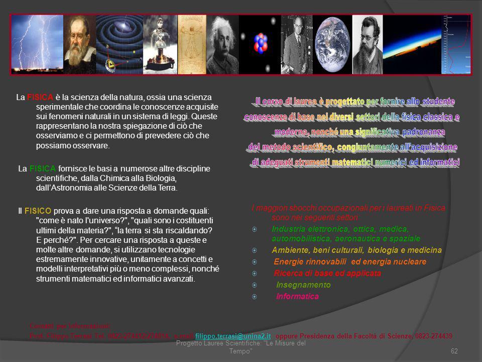 Ambiente, beni culturali, biologia e medicina