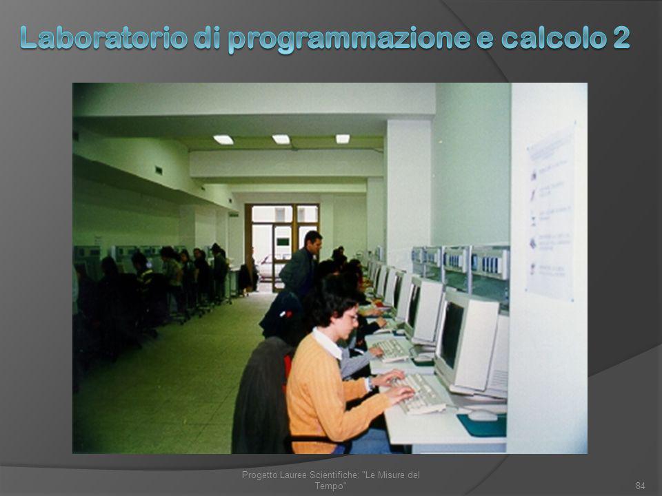 Laboratorio di programmazione e calcolo 2