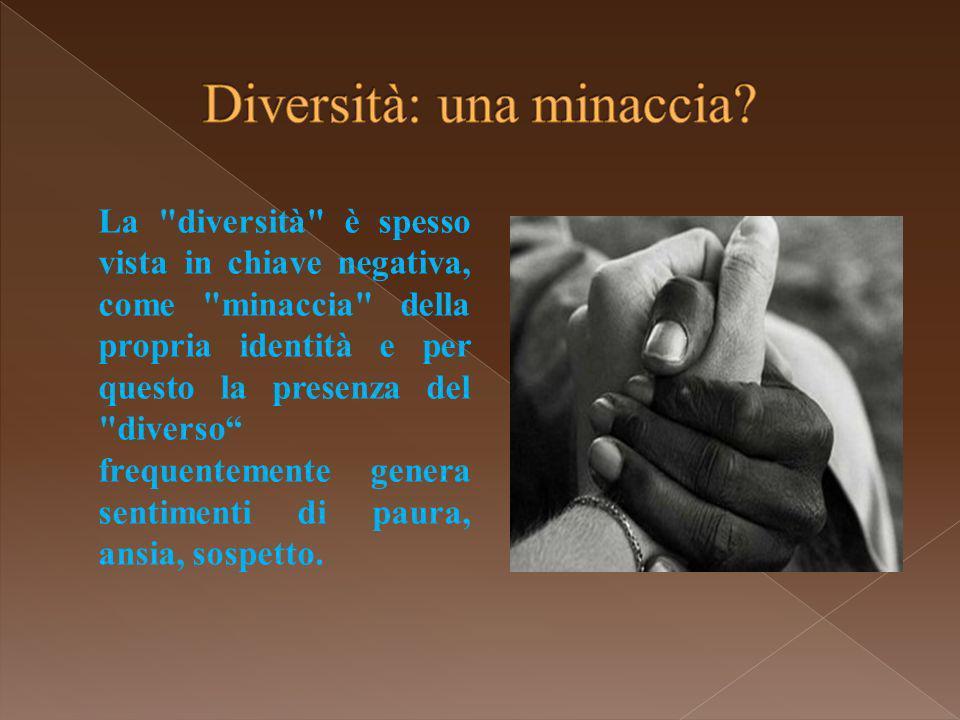 Diversità: una minaccia