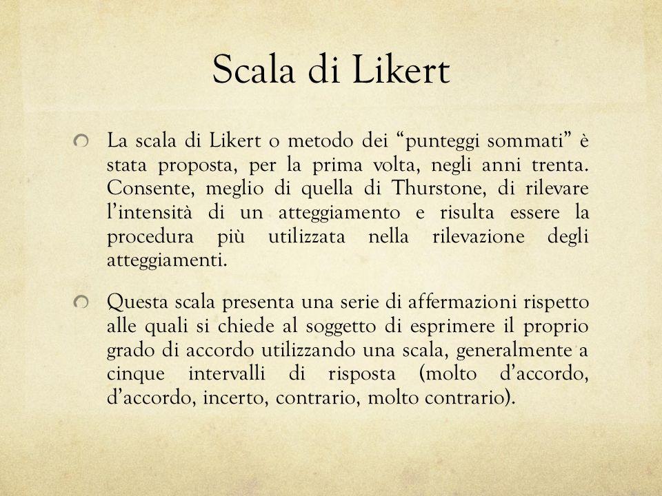Scala di Likert