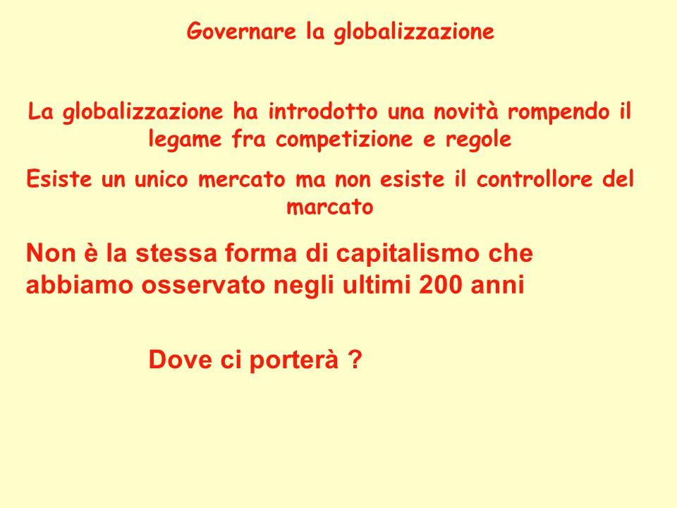 Governare la globalizzazione