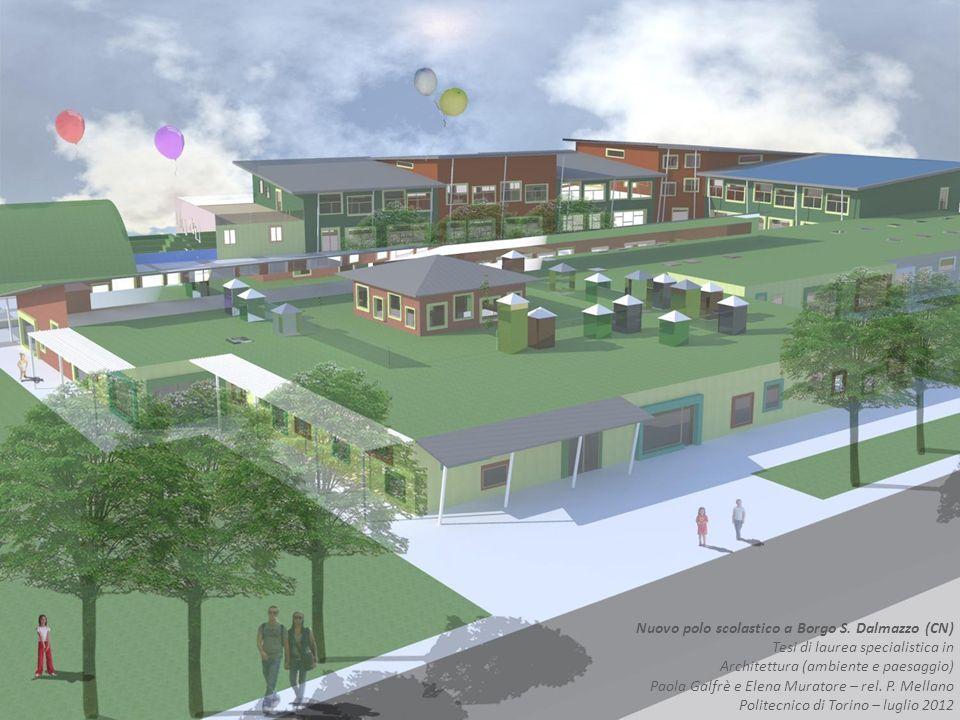 Nuovo polo scolastico a Borgo S. Dalmazzo (CN)