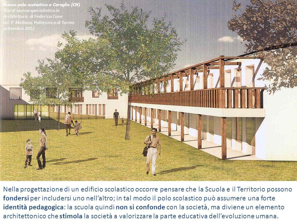 Nuovo polo scolastico a Caraglio (CN)