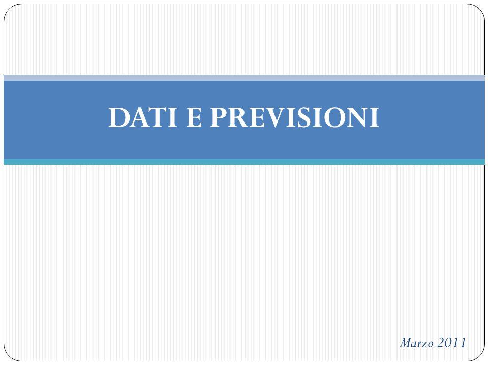 DATI E PREVISIONI Marzo 2011