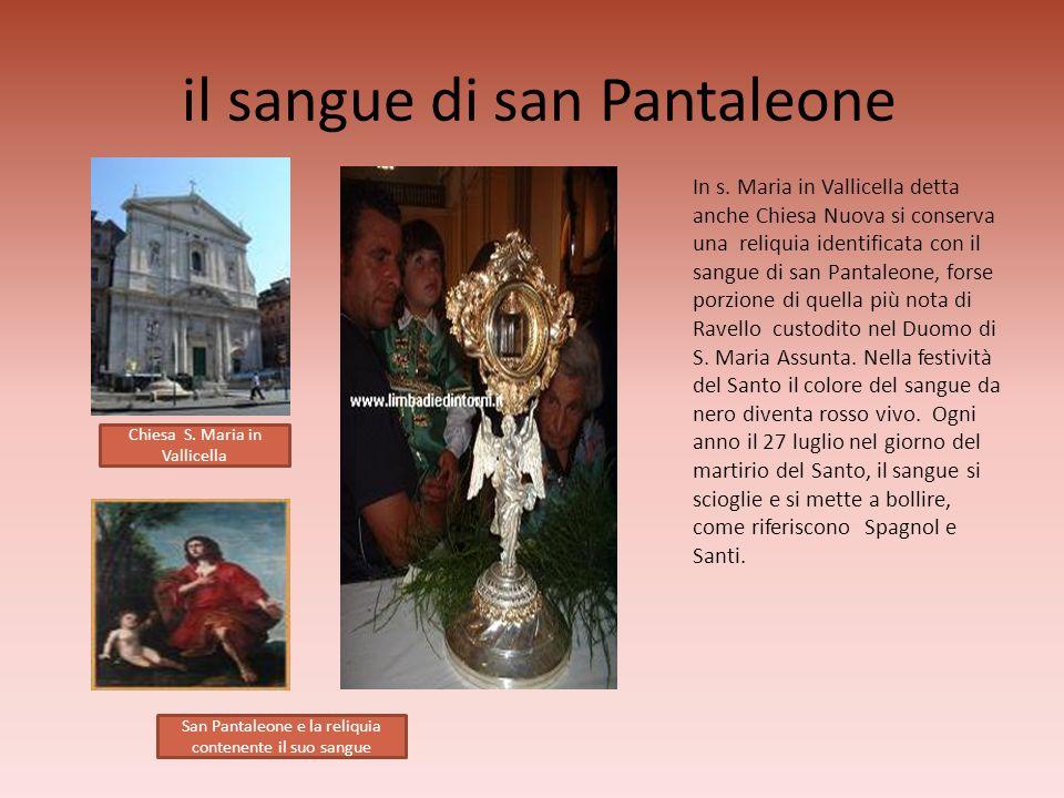 il sangue di san Pantaleone