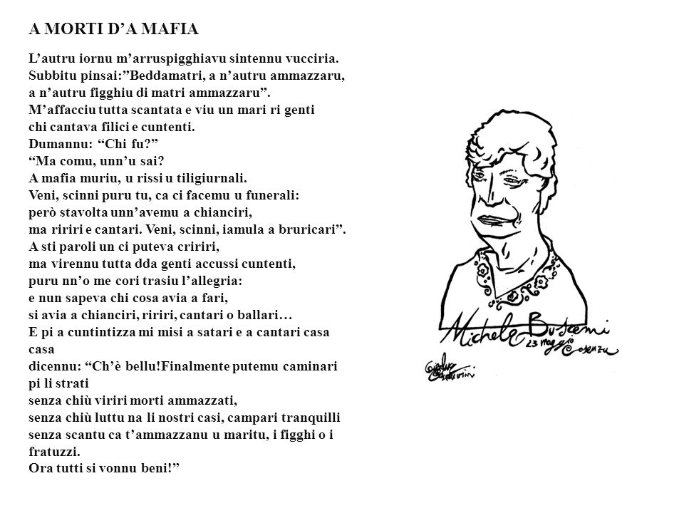 A MORTI D'A MAFIA