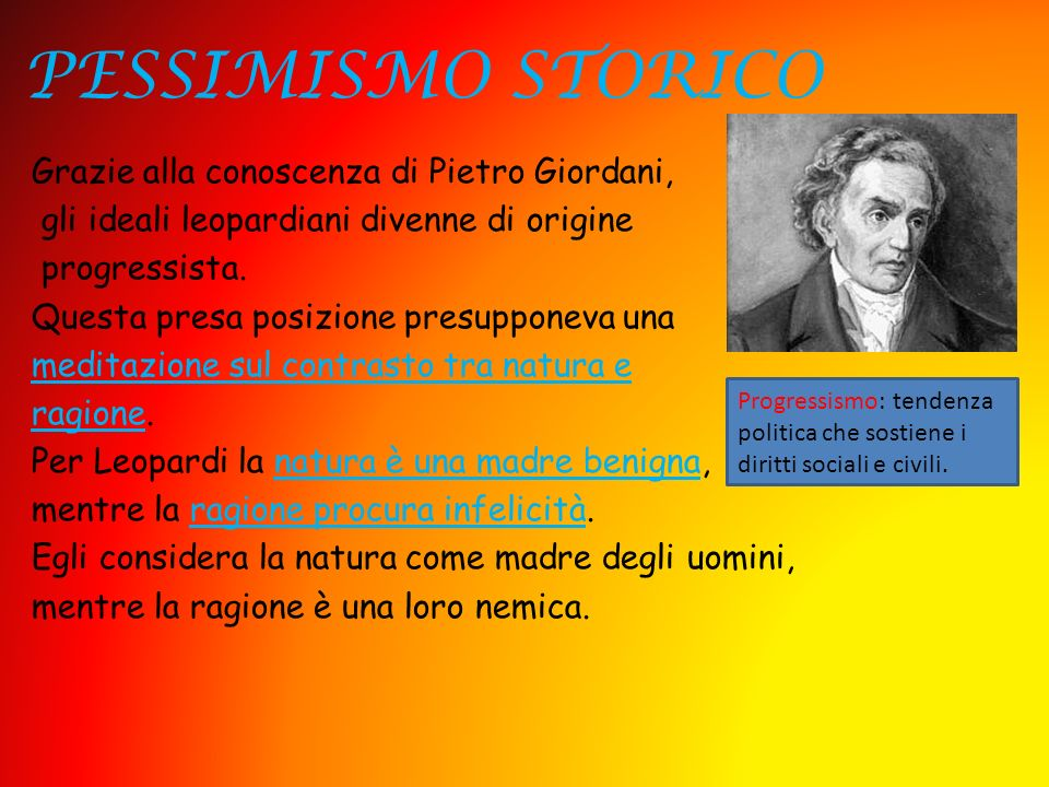 PESSIMISMO STORICO
