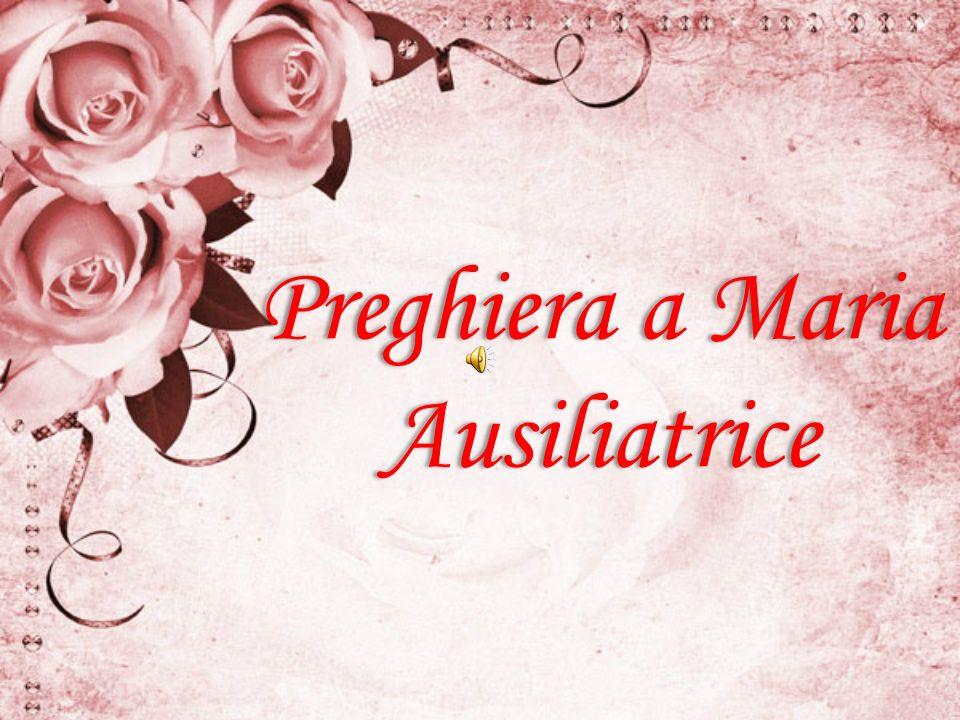 Preghiera a Maria Ausiliatrice